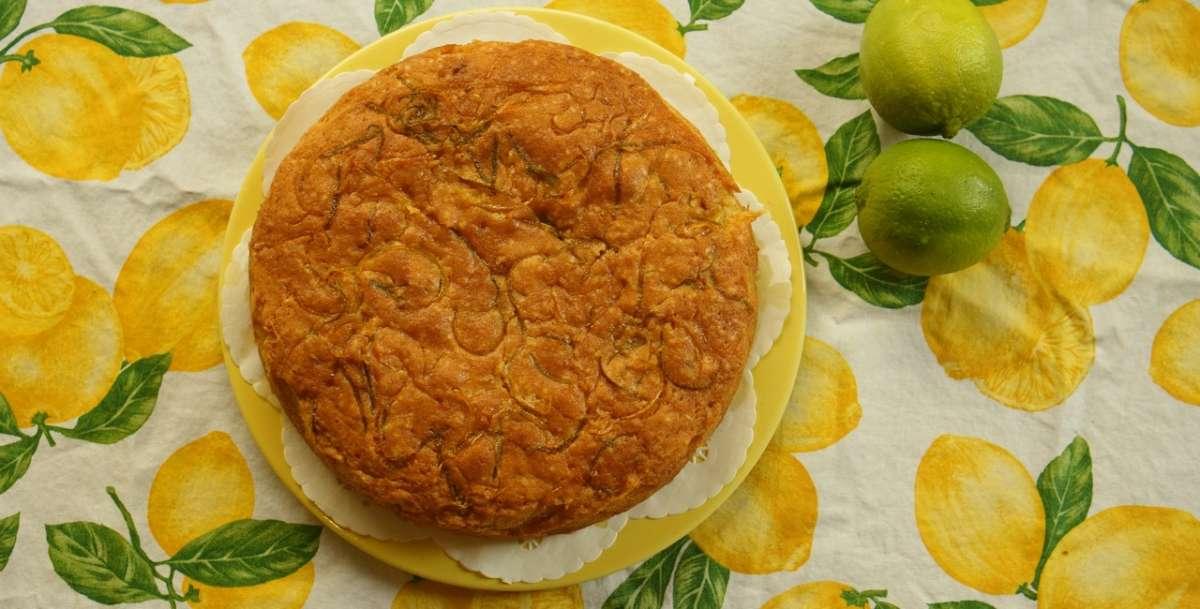 עוגה לימונית בסירופ - גבישס, בלוג האוכל של מירב גביש