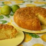 עוגה לימונית בסירופ