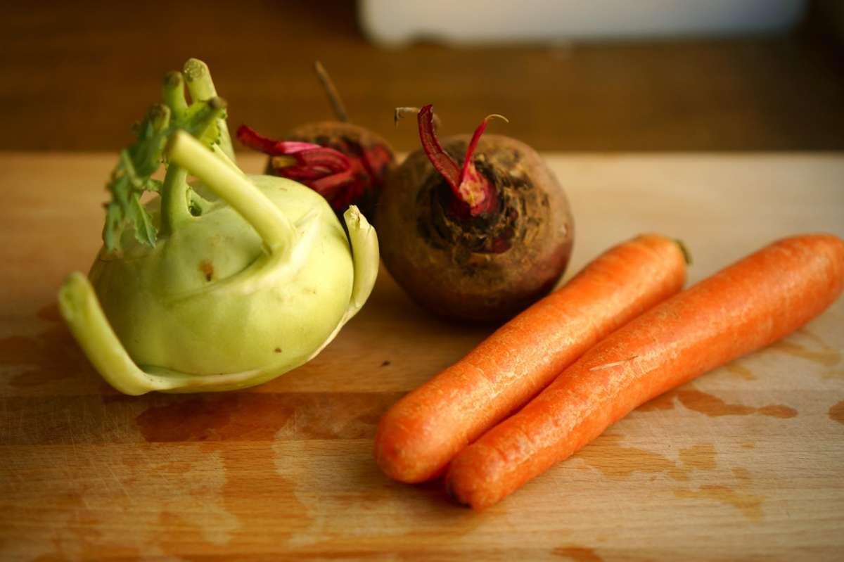 סלט שורשים עם קולפן, גבישס - בלוג האוכל של מירב גביש