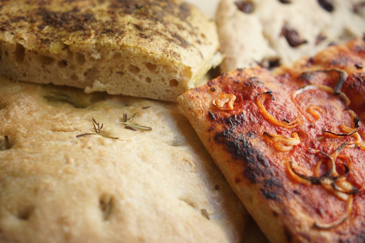פוקאצ'ה - גבישס, בלוג האוכל של מירב גביש