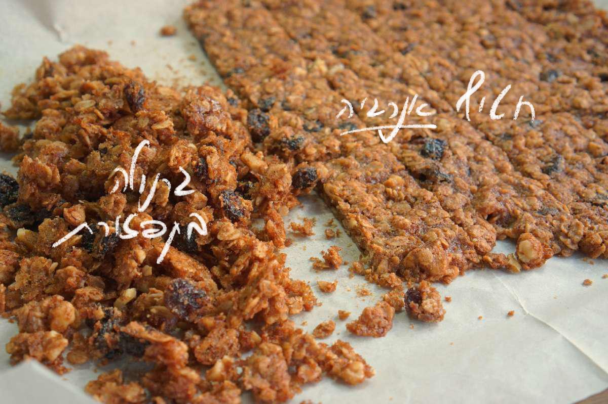 שלישיית גרנולה - גבישס, בלוג האוכל של מירב גביש