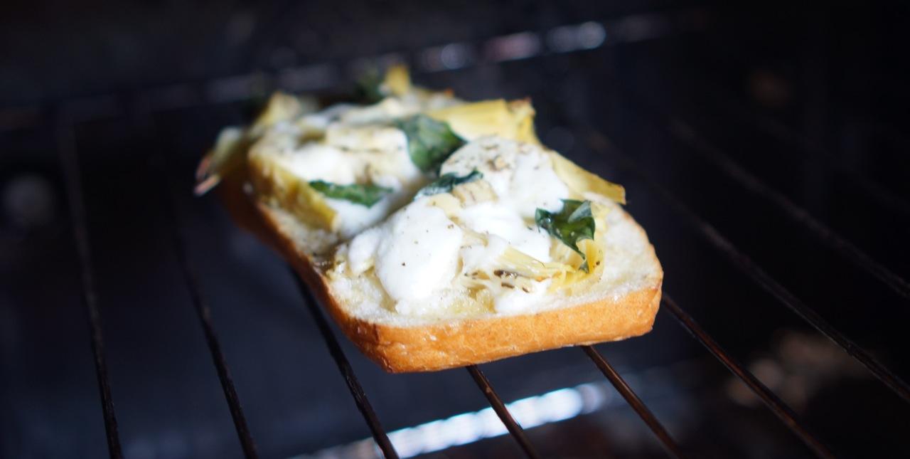 ברוסקטה ארטישוק וסלט קפרזה - גבישס, בלוג האוכל של מירב גביש