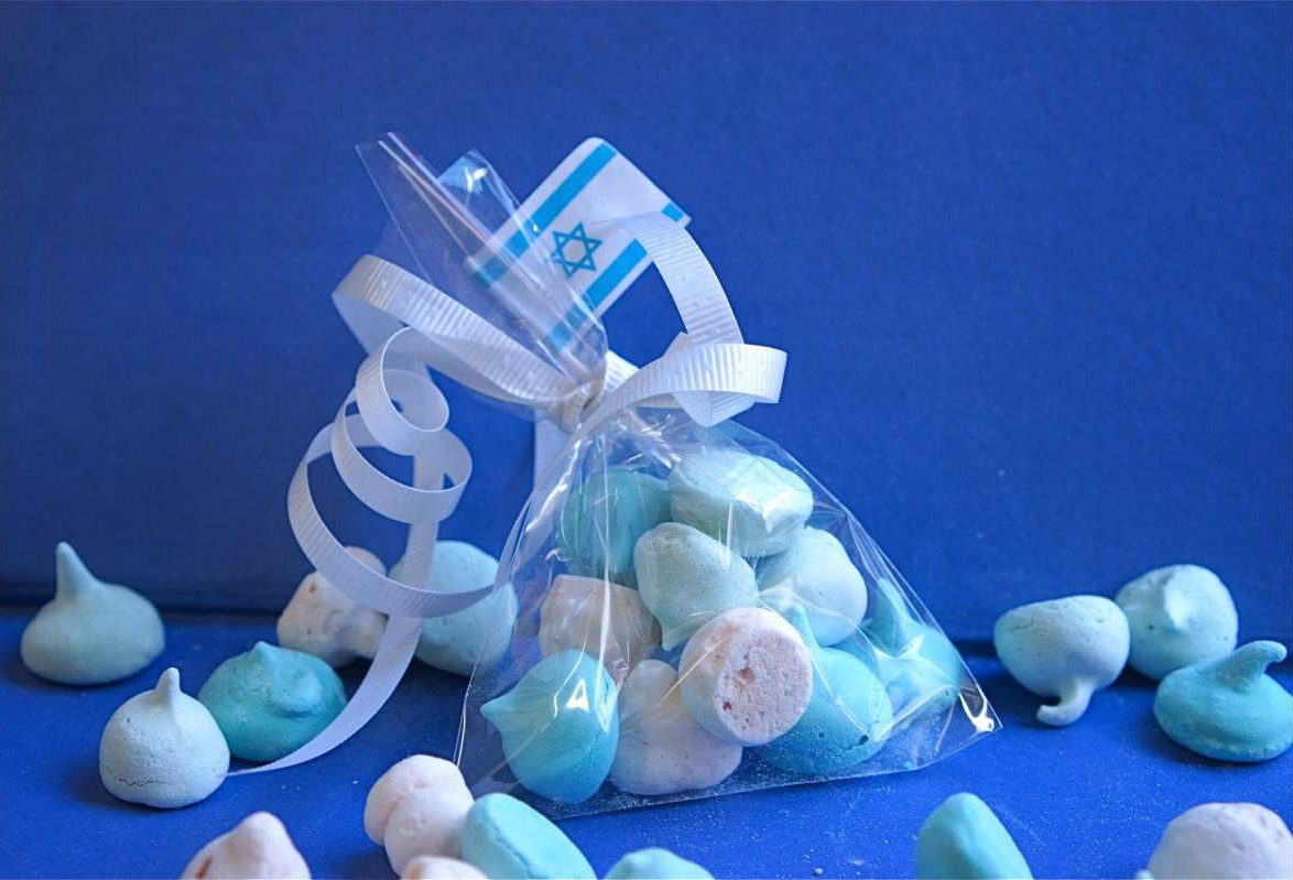 נשיקות בכחול לבן - גבישס, בלוג האוכל של מירב גביש