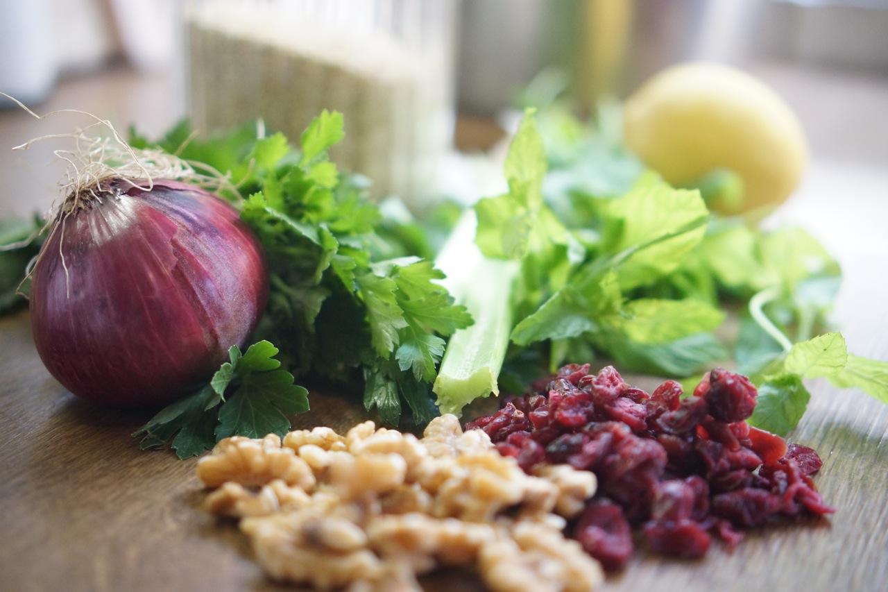סלט קעינואה, גבישס - בלוג האוכל של מירב גביש