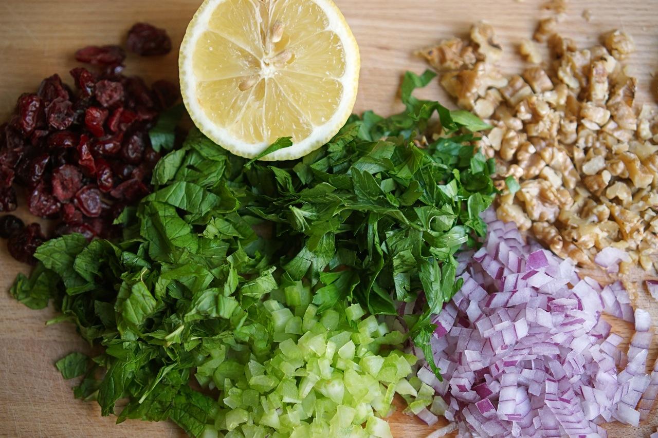 סלט קינואה, גבישס - בלוג האוכל של מירב גביש