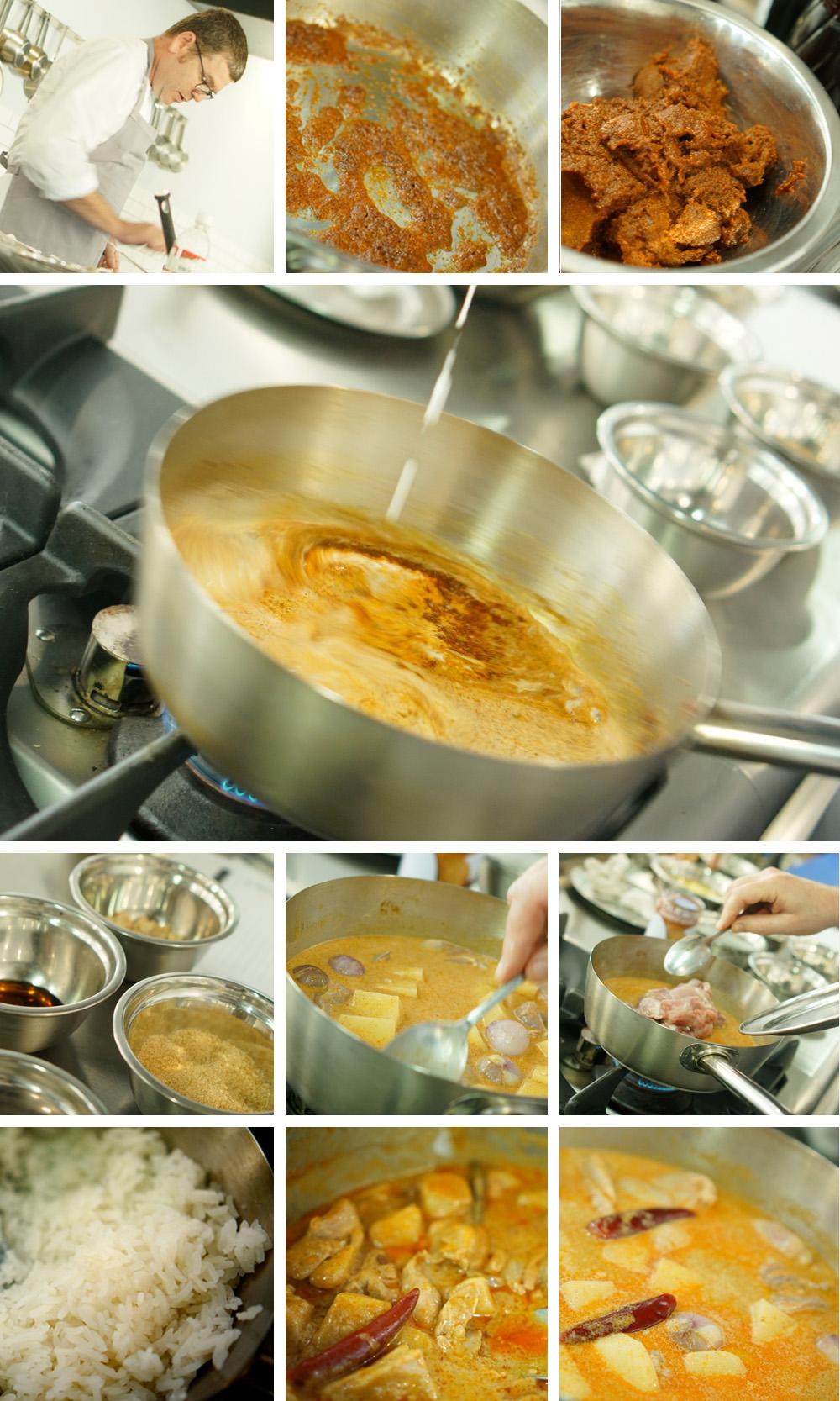 עוף ברוטב מסאמן, גבישס, בלוג האוכל של מירב גביש