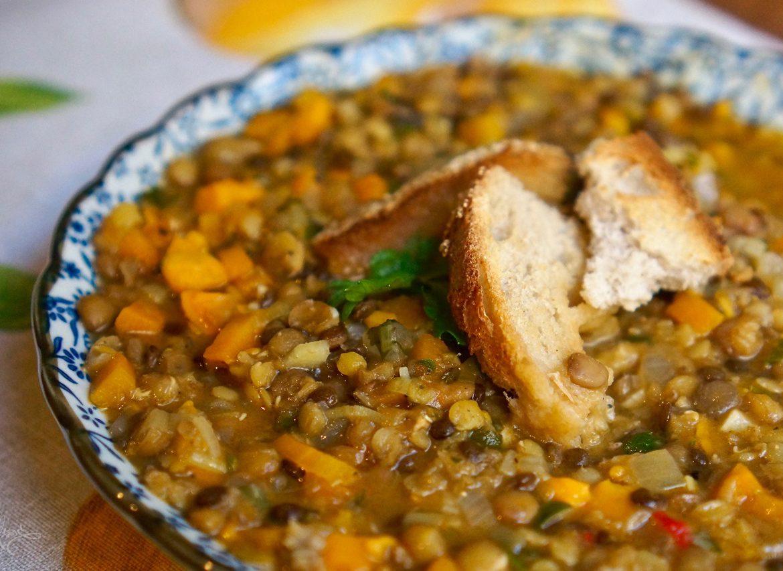 מרק כל העדשים, גבישס, בלוג האוכל של מירב גביש