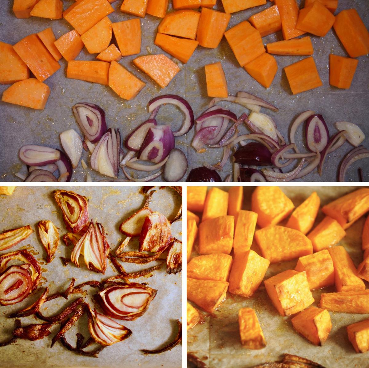 סלט קוסקוס עם בטטות, אדממה ושעועית,גבישס, בלוג האוכל של מירב גביש.