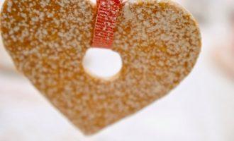 עוגיות לב פריך ליום האהבה,