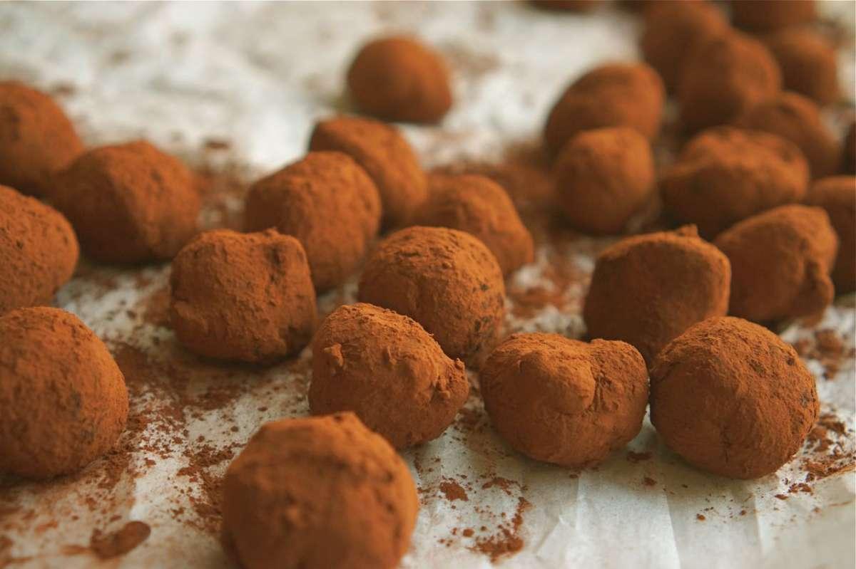 טראפלס שוקולד, גבישס - בלוג האוכל של מירב גביש