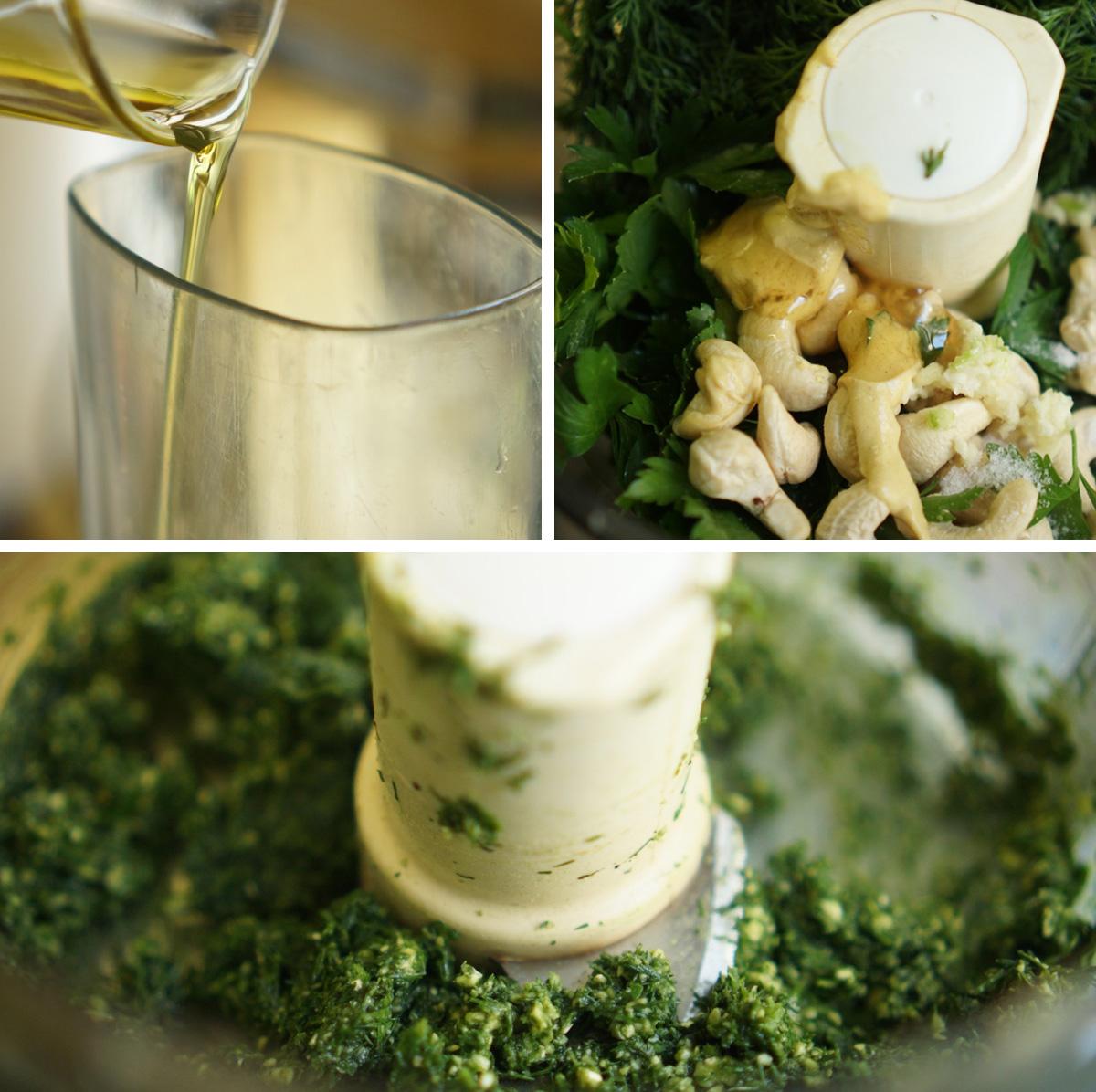 פסטו שמיר, גבישס - בלוג האוכל של מירב גביש