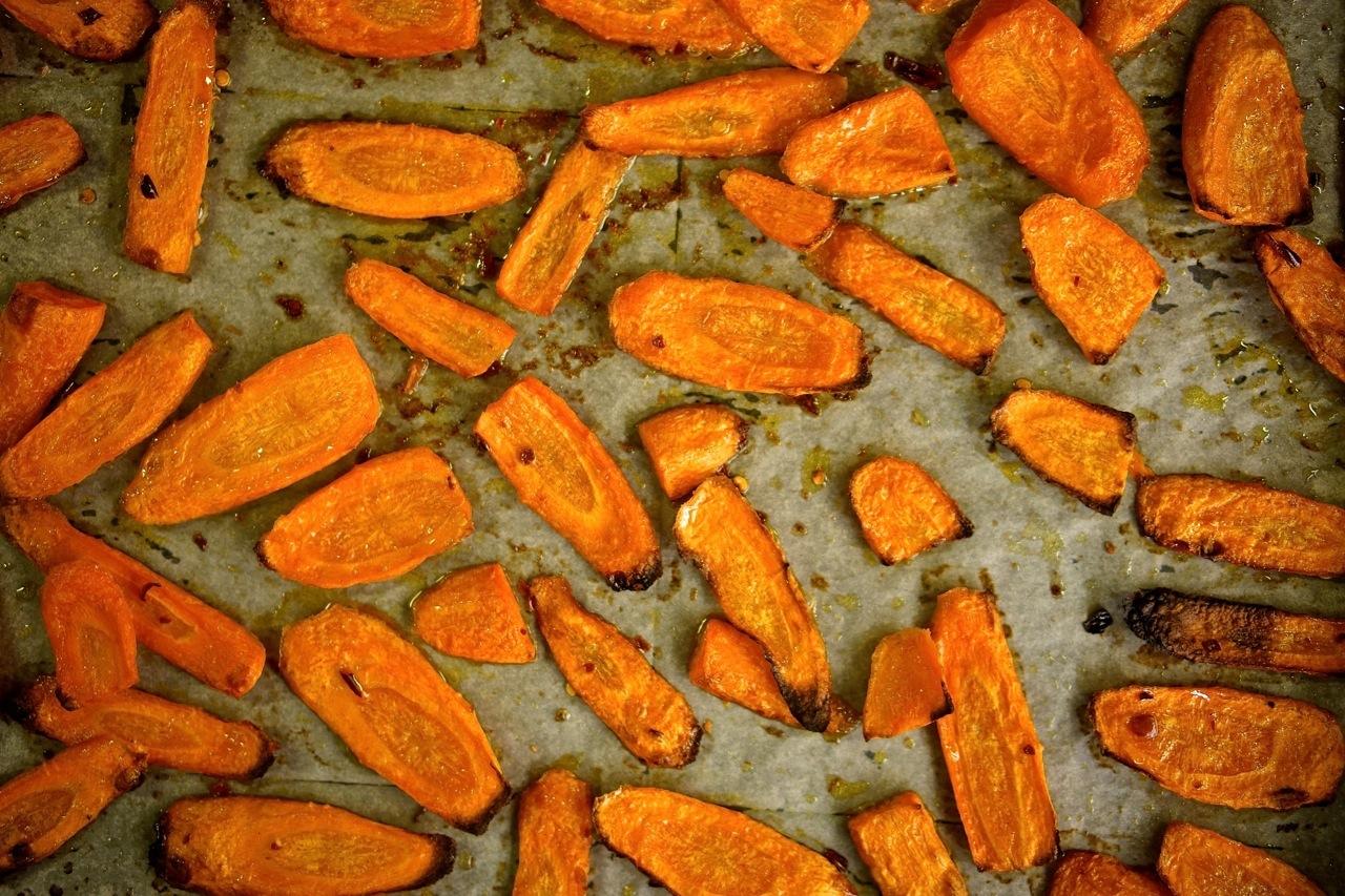 גזר צלוי, גבישס - בלוג האוכל של מירב גביש