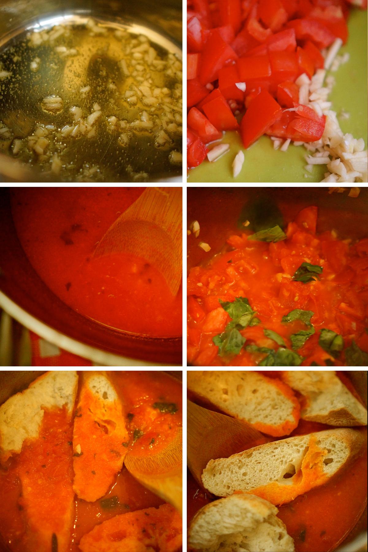 מרק עגבניות ולחם טוסקני, גבישס -בלוג האוכל של מירב גביש