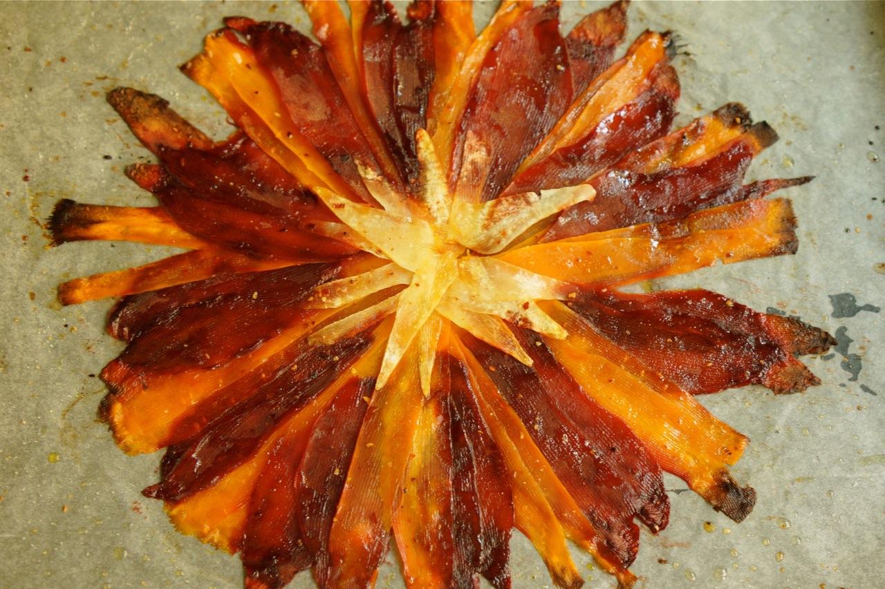 מניפת גזר וסלק, גבישס, בלוג האוכל של מירב גביש