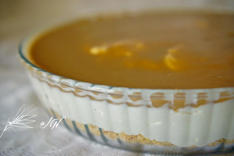 עוגת גבינה לוטוס בתבנית זכוכית
