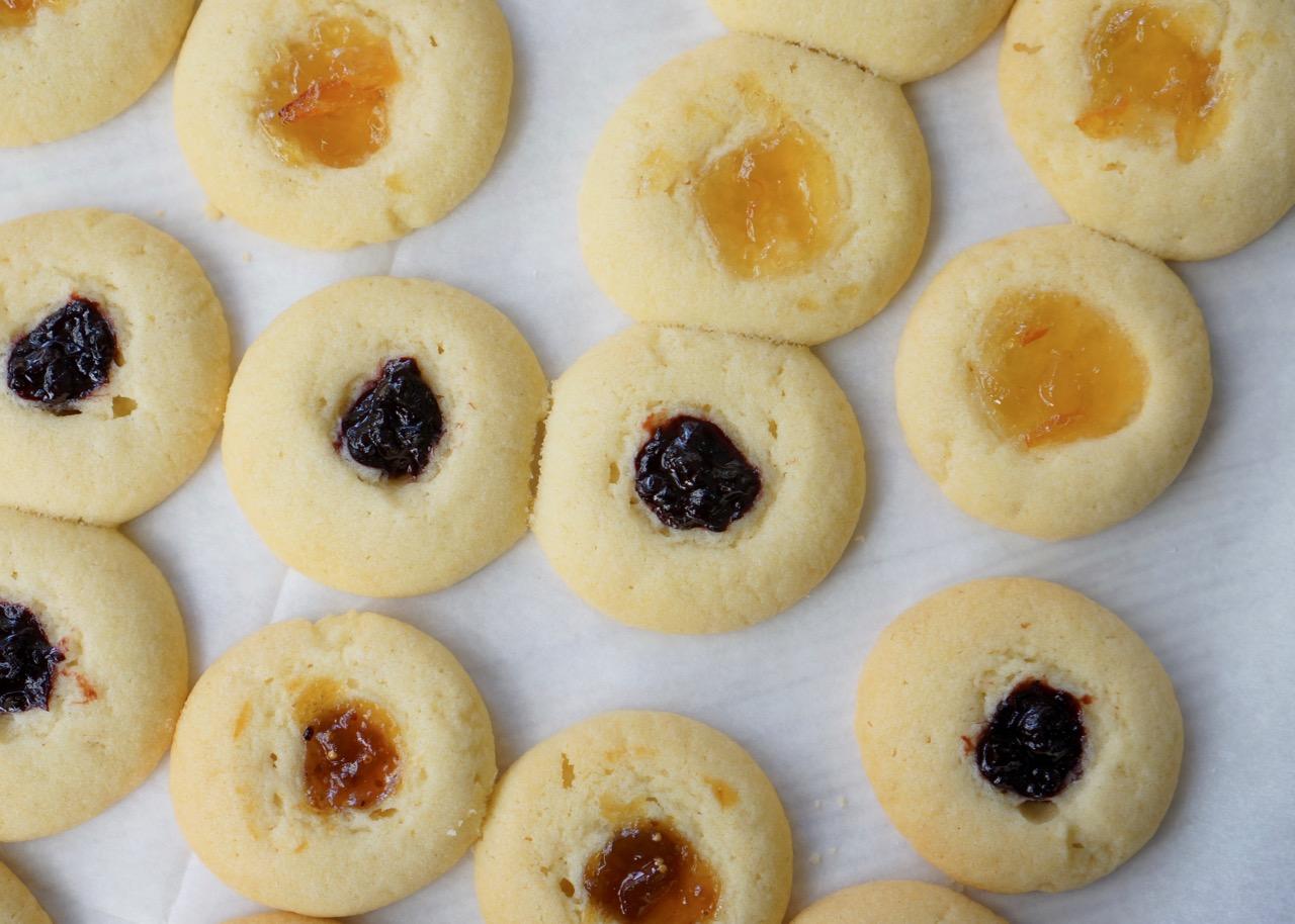 עוגיות טביעת אצבע