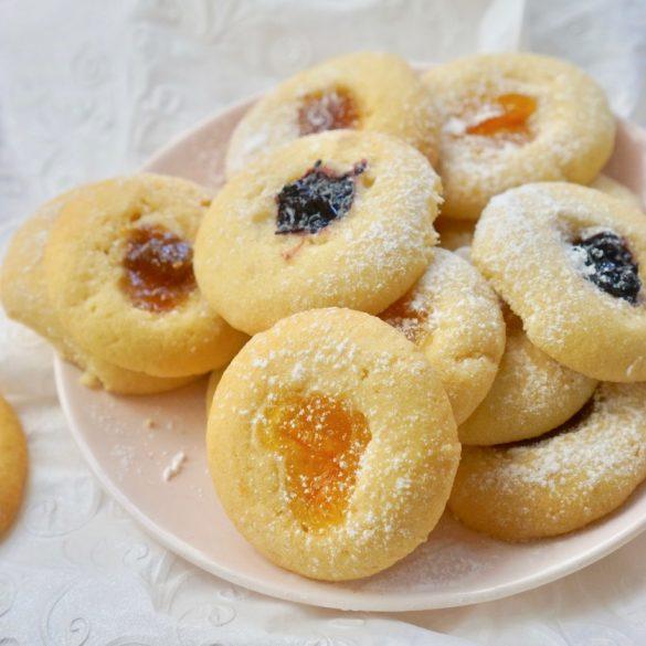 עוגיות טביעת אצבע, גבישס